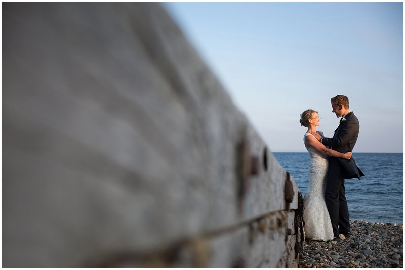 Beach wedding | Wales wedding photographer Criccieth