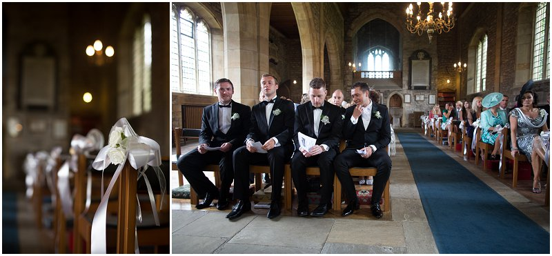 Groom waits anxiously at church Lancashire