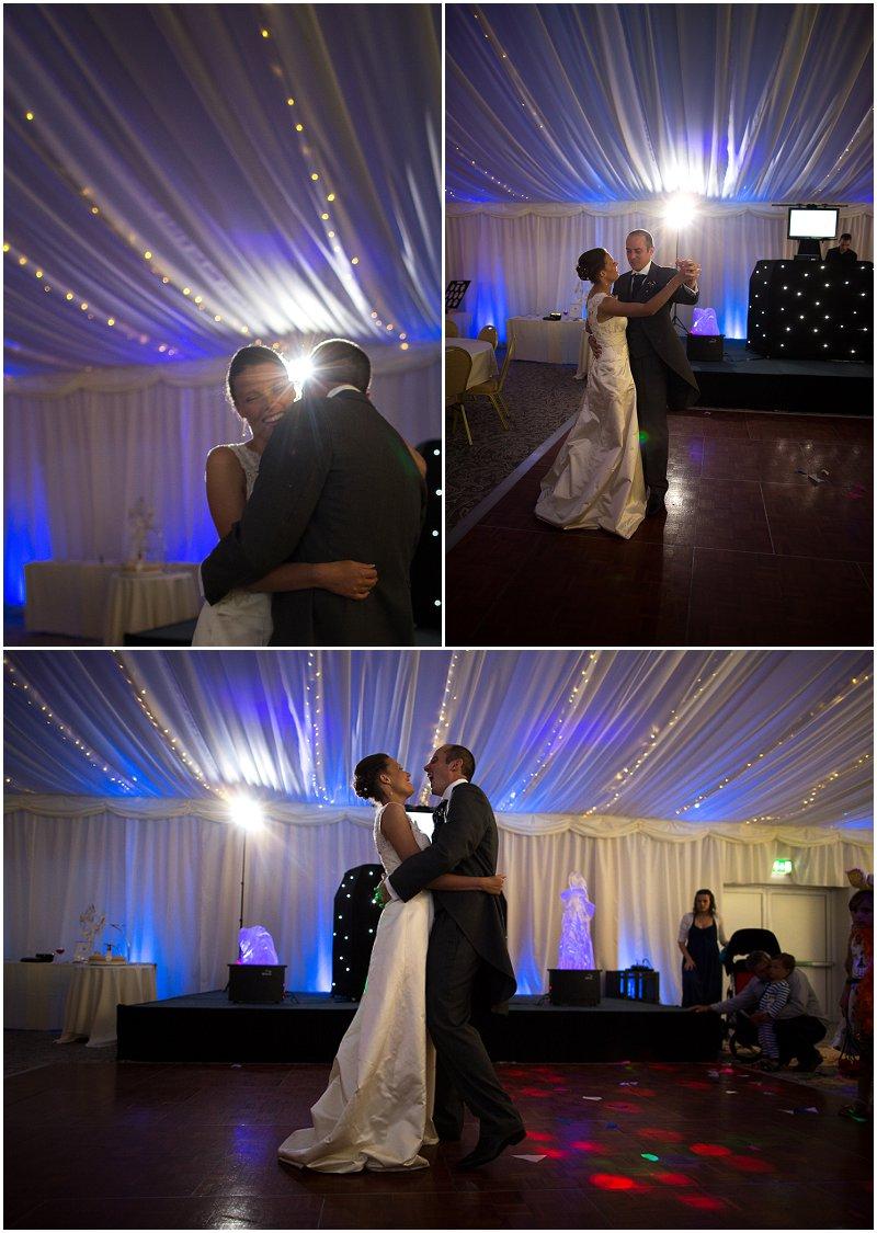 First Dance at The Villa Lancashire Wedding Photography