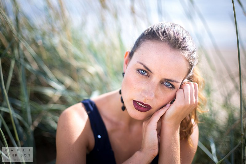 Model Photoshoot at Beach   Fashion Photography