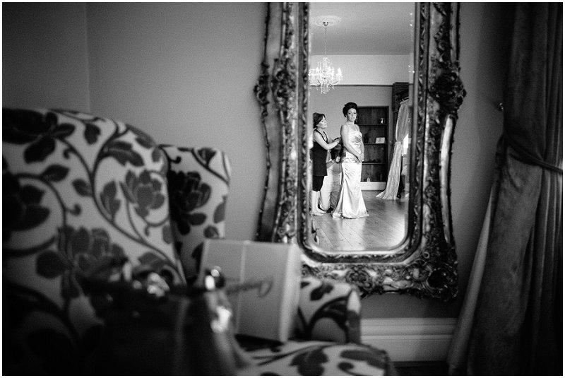 Beautiful Bridesmaid at West Tower Lancashire Wedding Photography