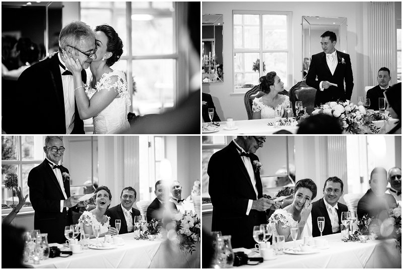 Emotion during speeches at Mitton Hall Lancashire