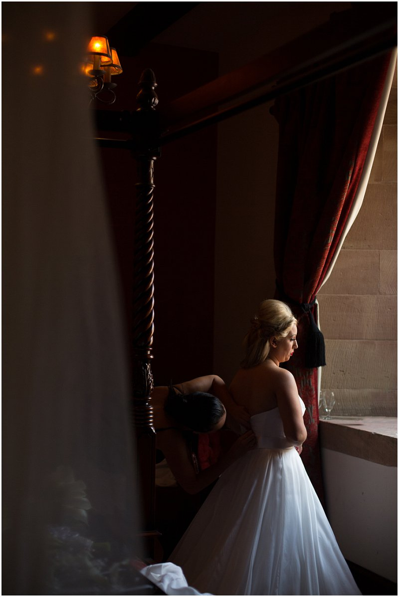 Documentary Wedding Photography by Karli Harrison at Peckforton Castle, Cheshire