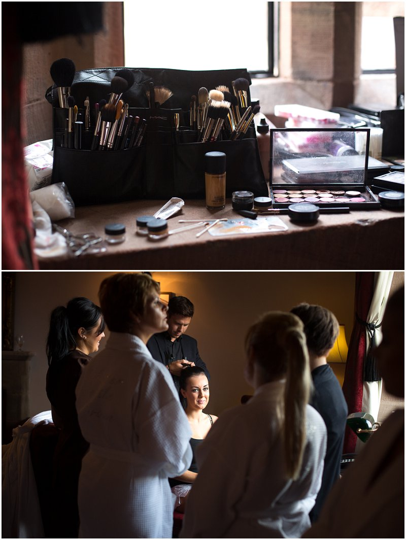 Make Up Artist | Peckforton Castle Wedding Karli Harrison Photography