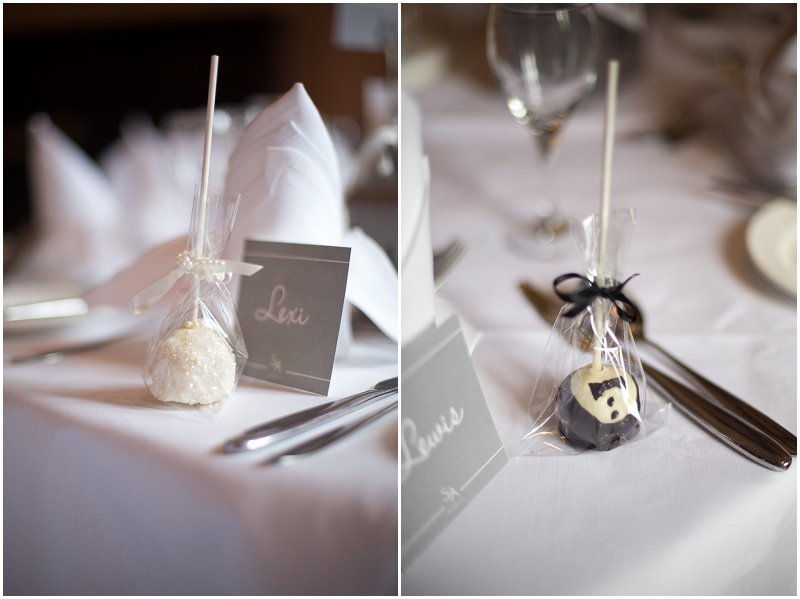 Cake Pops Bride and Groom | Award Winning Wedding Photographer Karli Harrison Photography
