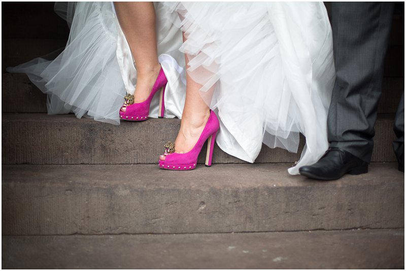 Designer Shoes | Cheshire Wedding Photography
