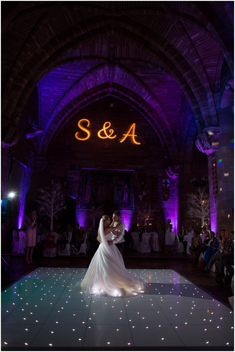 First Dance at Peckforton Castle | Award Winning Wedding Photographer Karli Harrison Photography