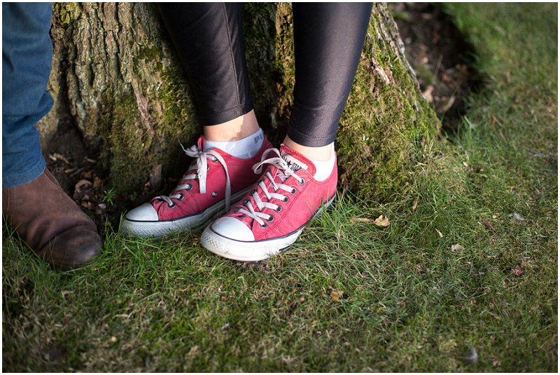Converse Shoes Pre Wedding Photography Lancashire