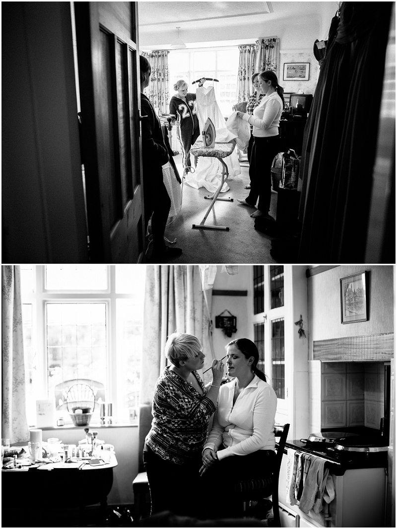 Ironing The Wedding Dress Merseyside Wedding Photographer