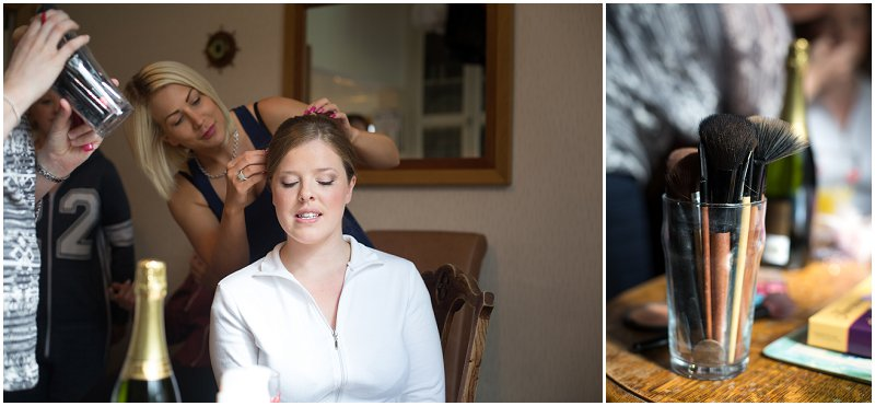 Make Up | Bride Getting ready