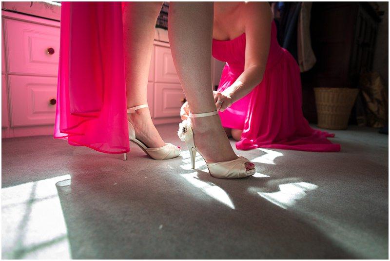 Bridesmaids Shoes | Merseyside Wedding Photographer