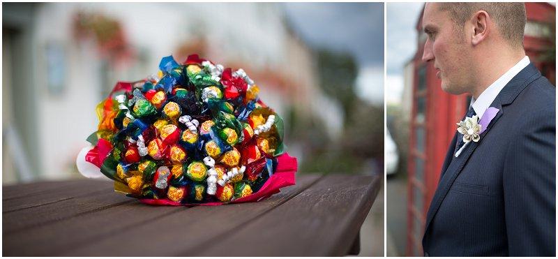 Lollipop Bouquet wedding
