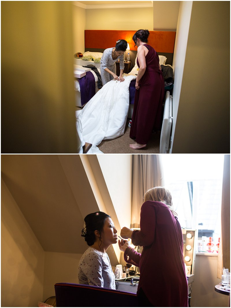 Bride Getting Ready | Lancashire Wedding Photography