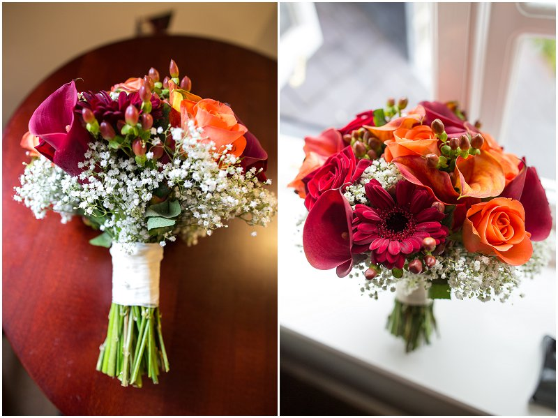 Bridal Flowers | Lancashire Wedding Photography at The Villa