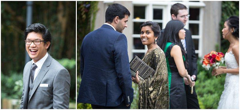 Wedding Guests at The Villa | Wedding Photography Lancashire
