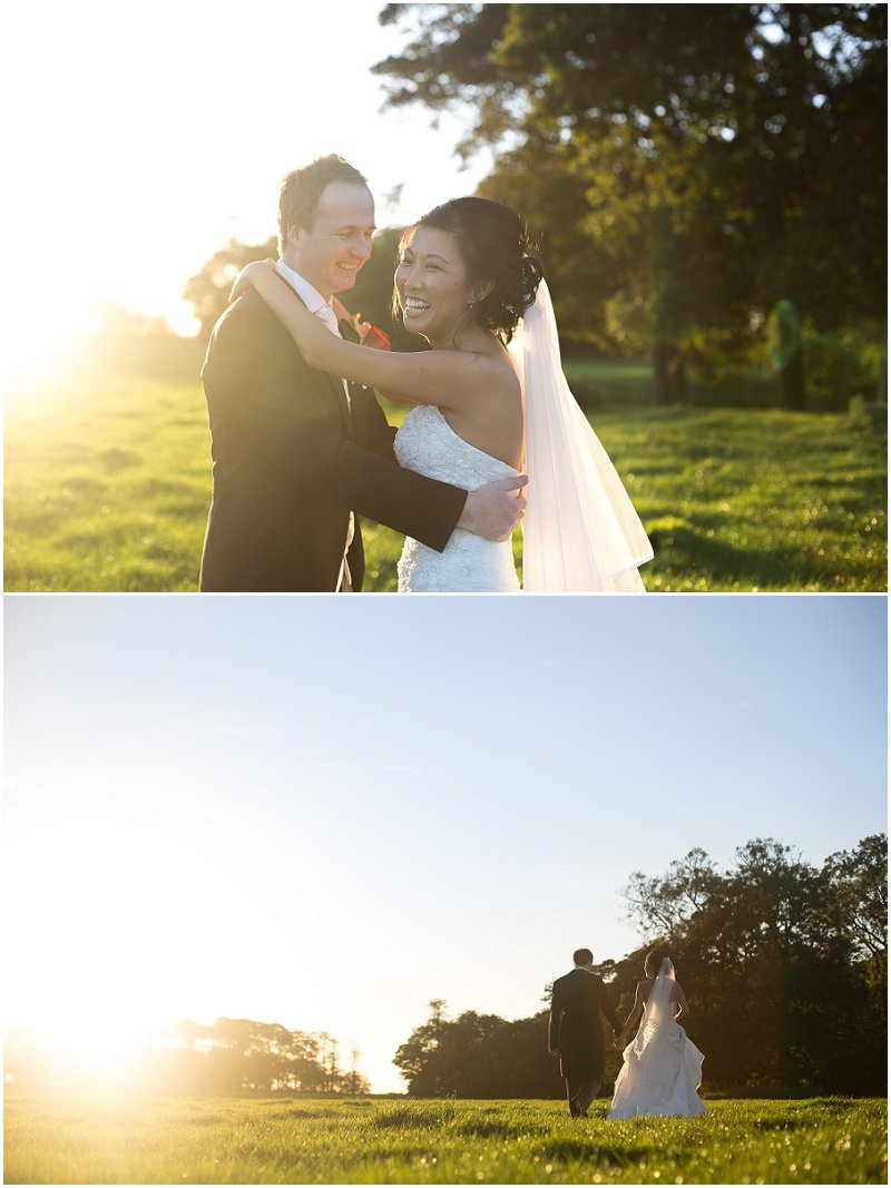 Golden Hour at The Villa | Lancashire Wedding Photography