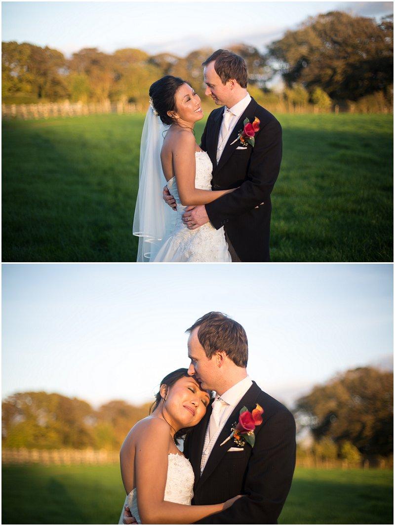Beautiful Golden Hour | Lancashire Wedding Photographer Karli Harrison Photography