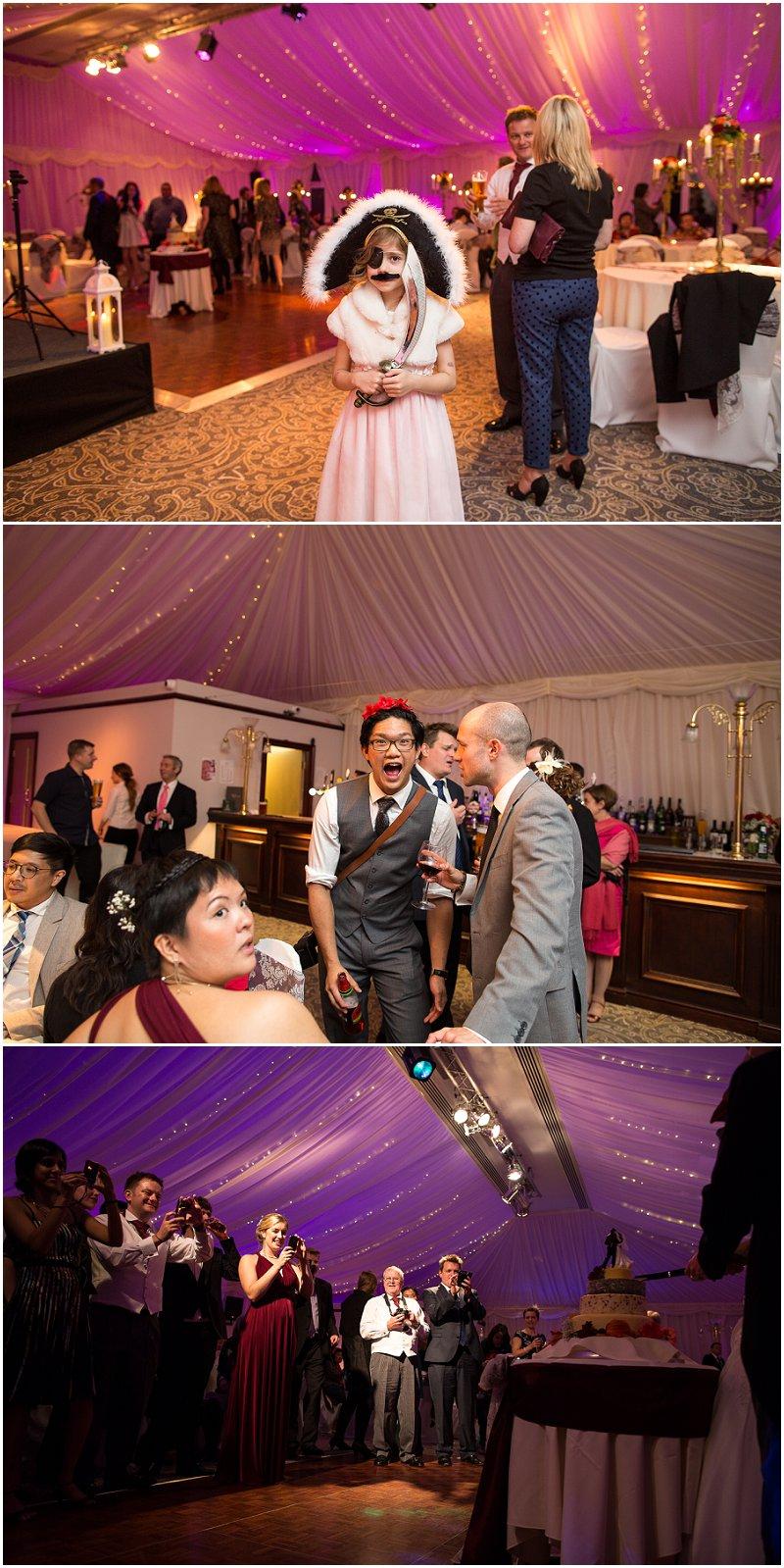 Pirate! Wrea Green Wedding at The Villa Lancashire
