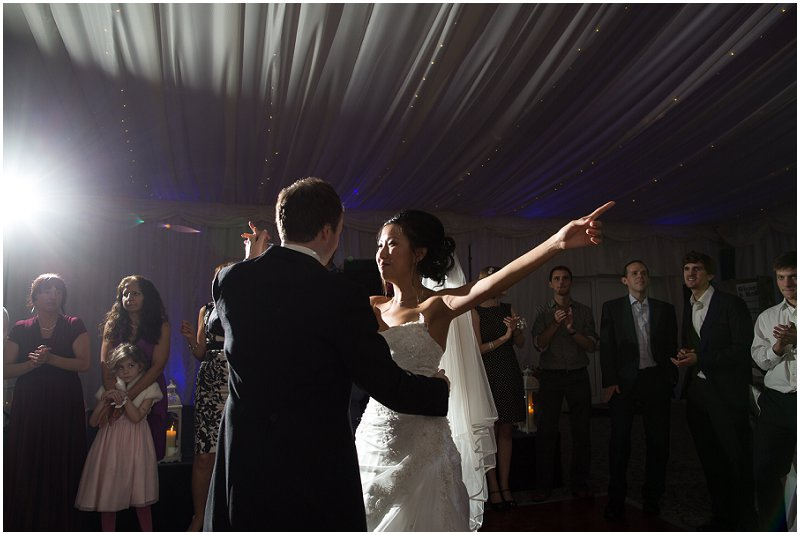 First Dance at The Villa | Lancashire Wedding Photography