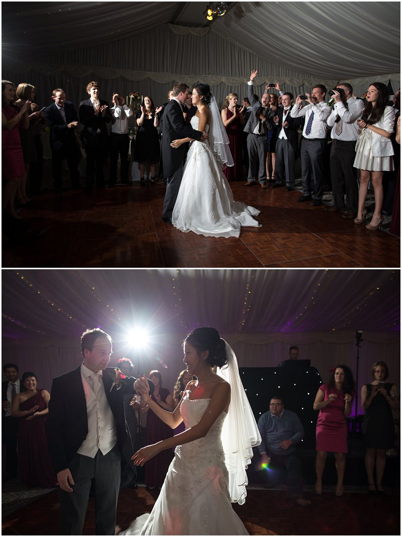 First Dance at The Villa Wedding Photography