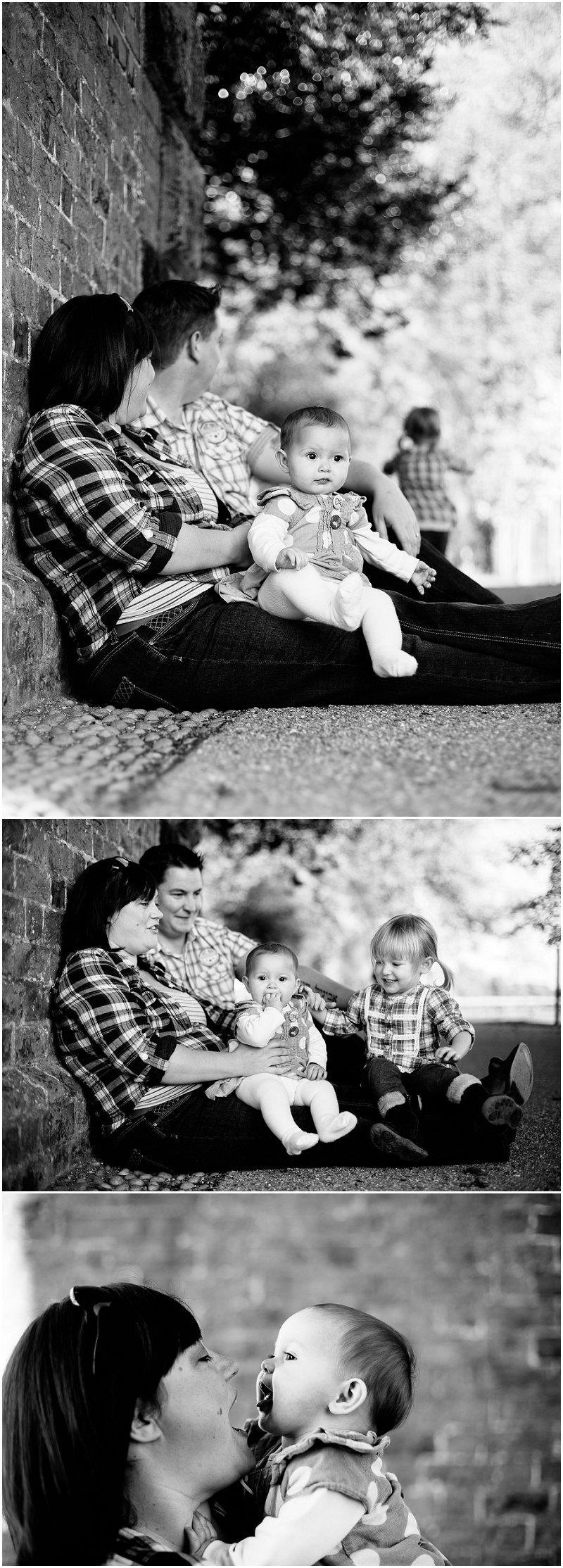 Loving Family Portrait Session Lancashire Photographer