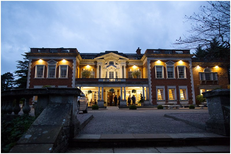 Eaves Hall Lancashire at Night