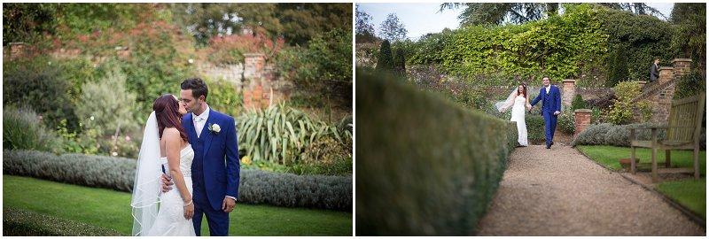 The Orangery Turkey Mill Maidstone Wedding Photography Bride and Groom