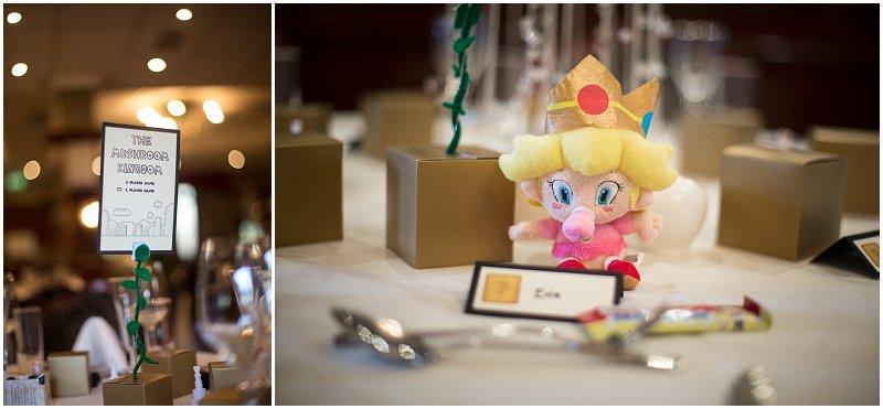 Baby Peach and Mushroom Kingdom | Mario Wedding Photography Sefton Park Liverpool