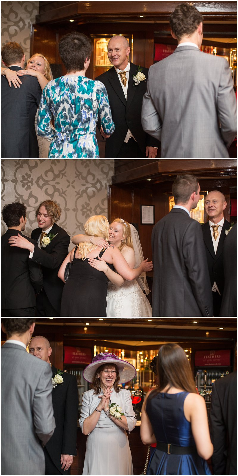 Receiving Line at Sefton Park Wedding Photographer