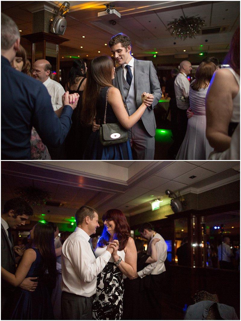 Dancing at Evening Reception at Sefton Park Liverpool