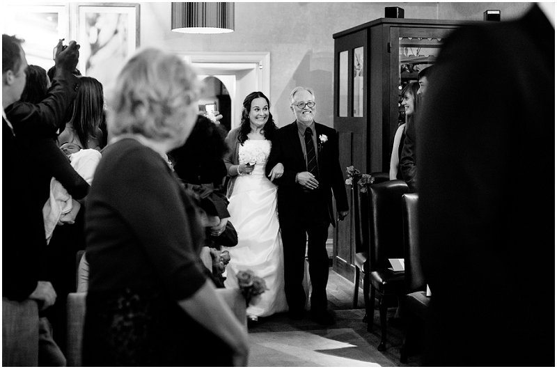 Here Comes the Bride Wedding Photography Linthwaite House Hotel