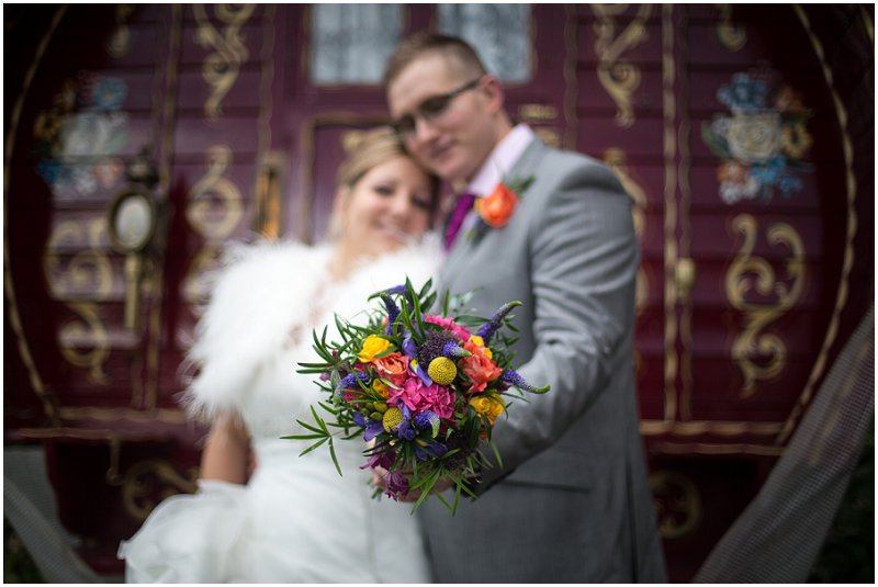 Beautiful Wedding Bouquet at Wordsworth Hotel Cumbria Wedding Photography