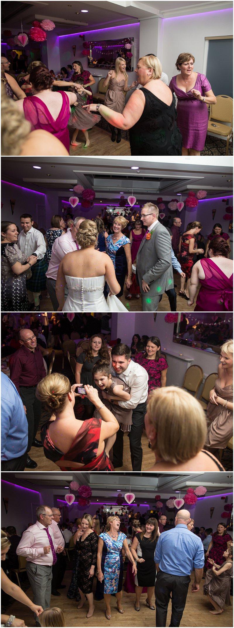 Evening Dancing at Wordsworth Hotel Cumbria Wedding Photographer