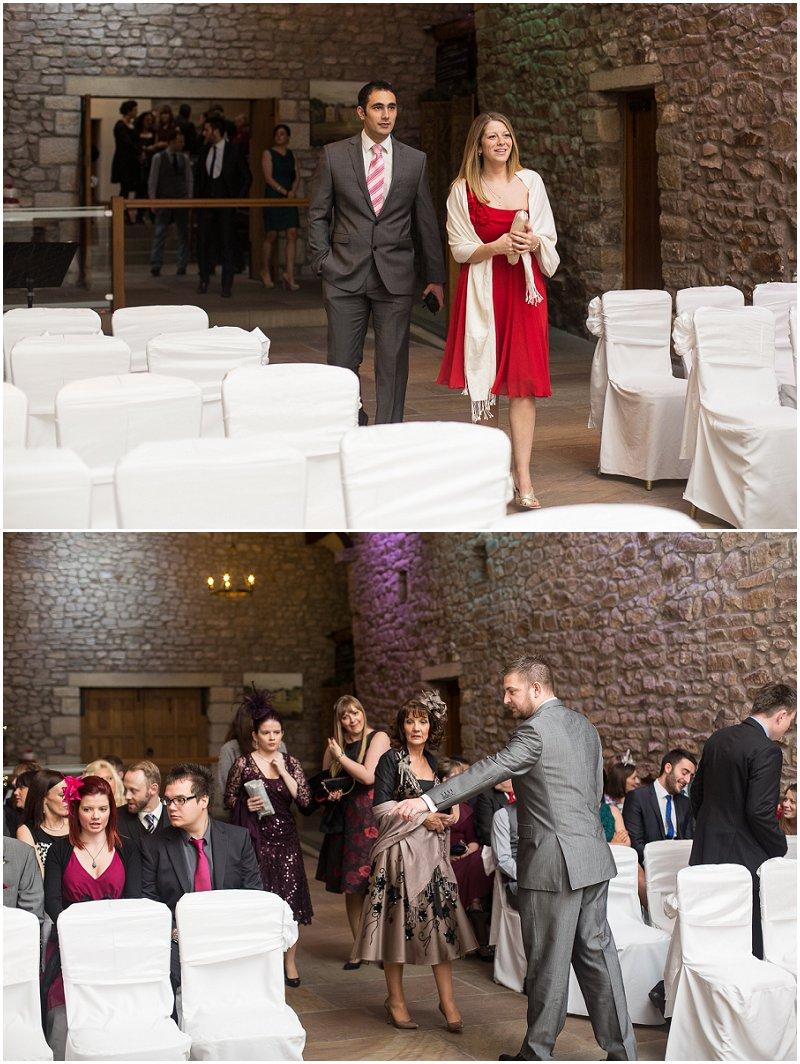 Tithe Barn Wedding Guests | Lancashire Wedding Photography