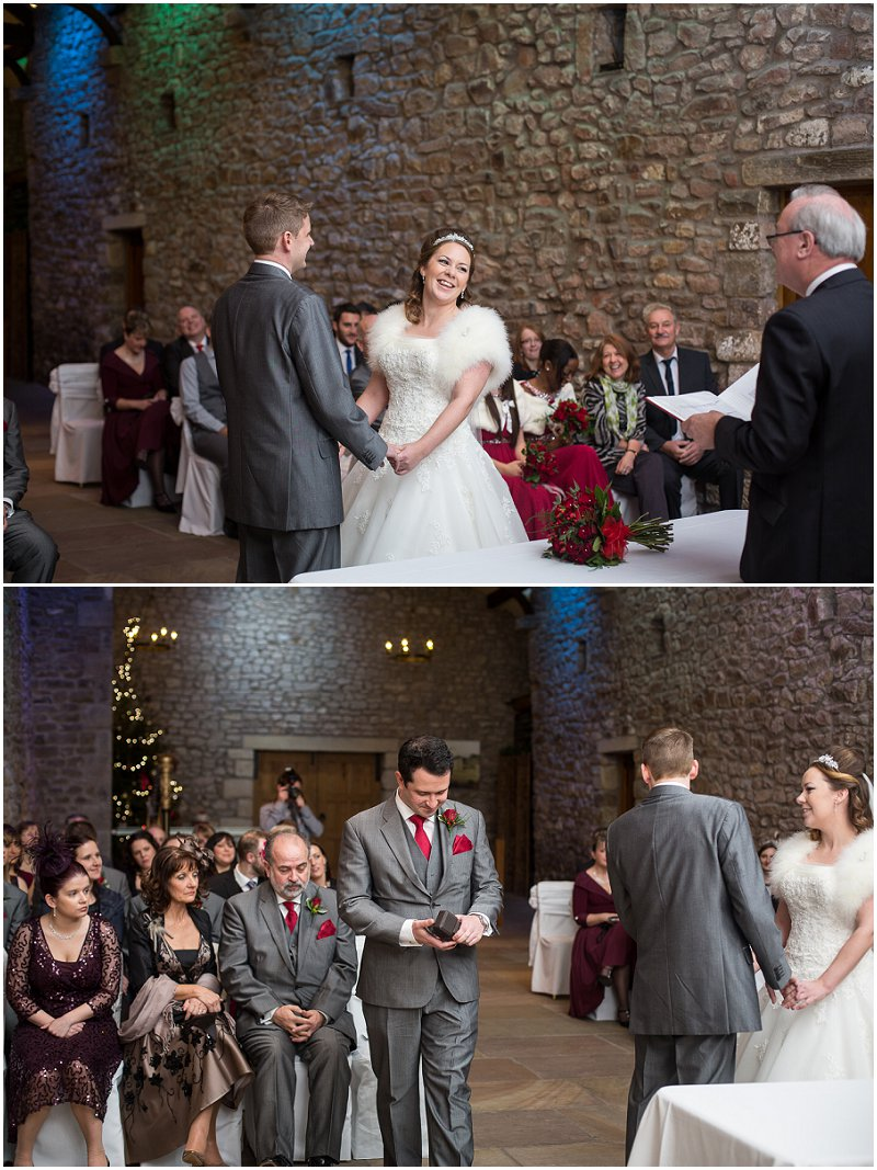 Tithe Barn Wedding Ceremony Lancashire