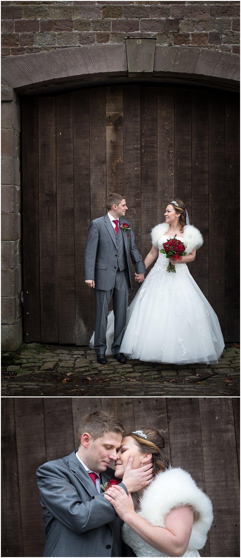 Beautiful Bride and Groom Tithe Barn Wedding Photography Lancashire
