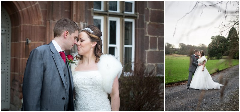 Beautiful bride and groom at Tithe Barn Lancashire Wedding Photographer