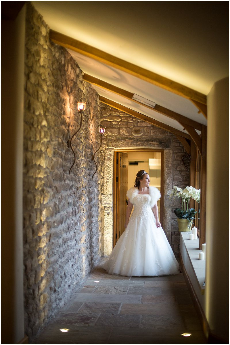 Bride at Tithe Barn Lancashire | Karli Harrison Photography