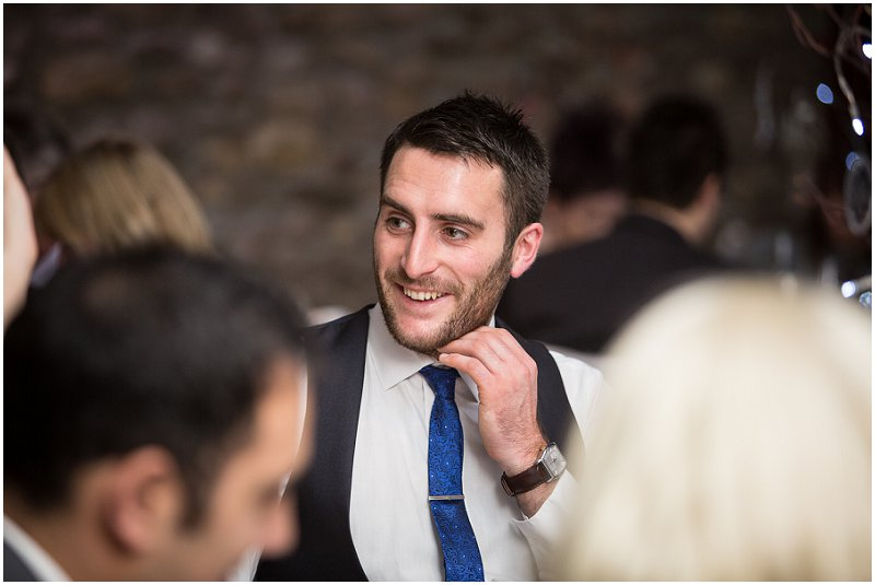 Wedding Guest at Tithe Barn Lancashire