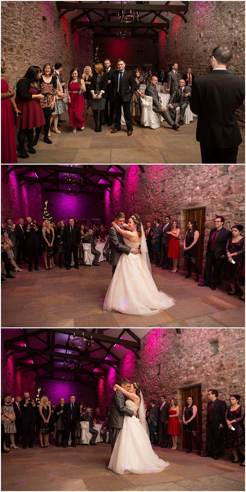 First Dance at Tithe Barn Lancashire Wedding Photography