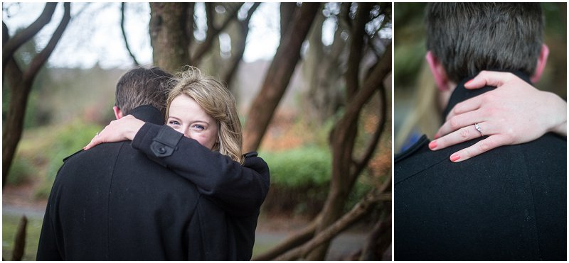 Engagement Ring Pre Wedding Photography Cumbria