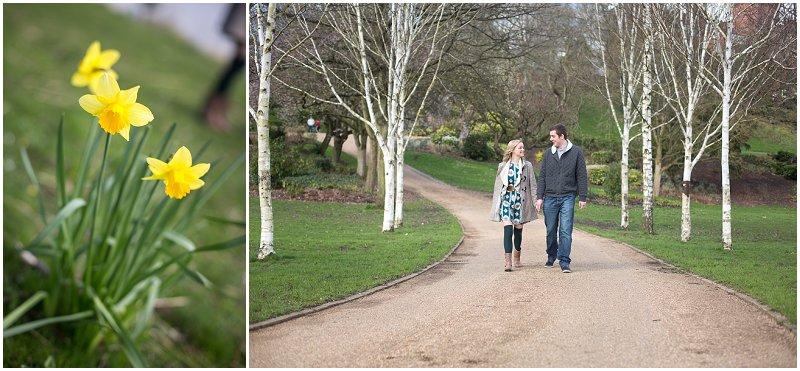 Couple walking during Engagement Shoot   Lancashire Pre Wedding Photographer