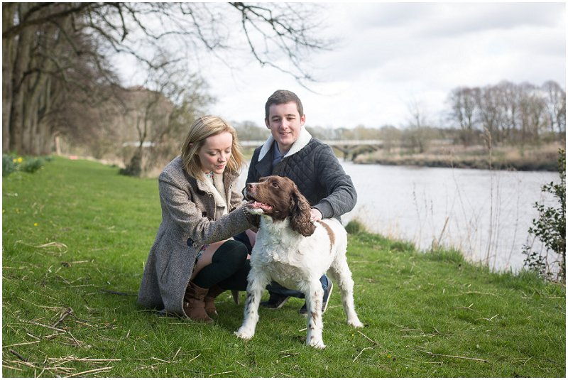 A couple and their dog   Family Photography Lancashire