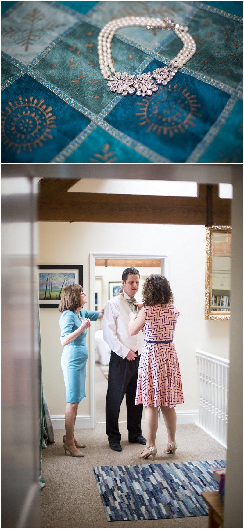 Beautiful details during bridal prep at Birtsmorton Court Wedding Photography