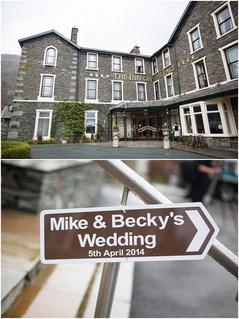 The Inn on the Lake Wedding Photographer Cumbria