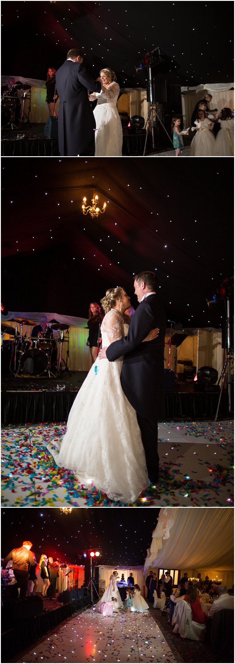 First dance in Marquee at The Inn on the Lake Ullswater Wedding Photography