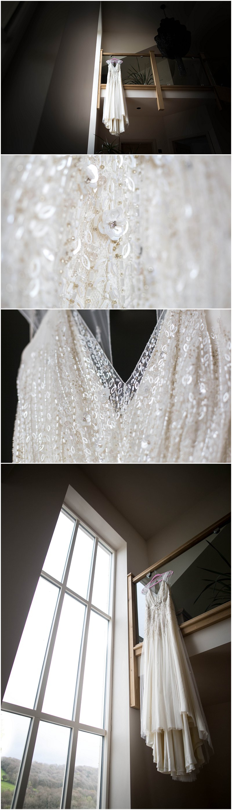 Lace and Beaded Wedding Dress Detail Wedding Photos