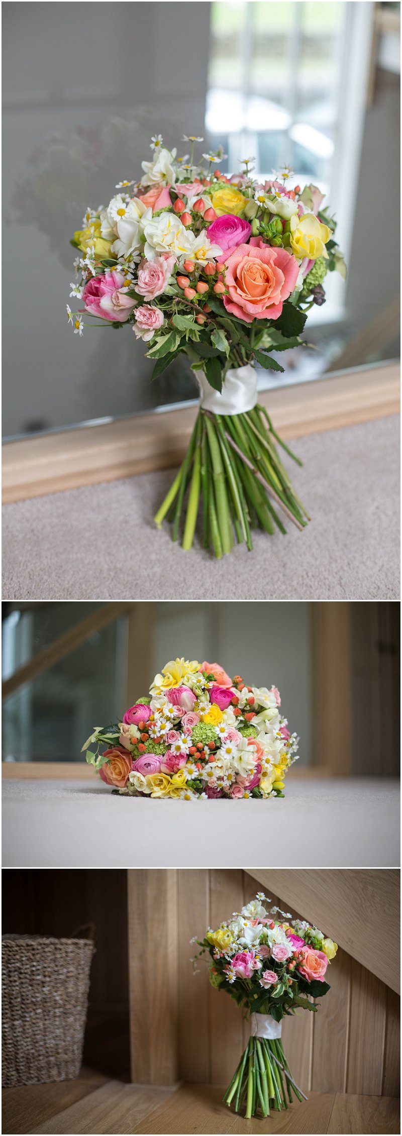 Sunning Wedding Bouquet Karli Harrison photography
