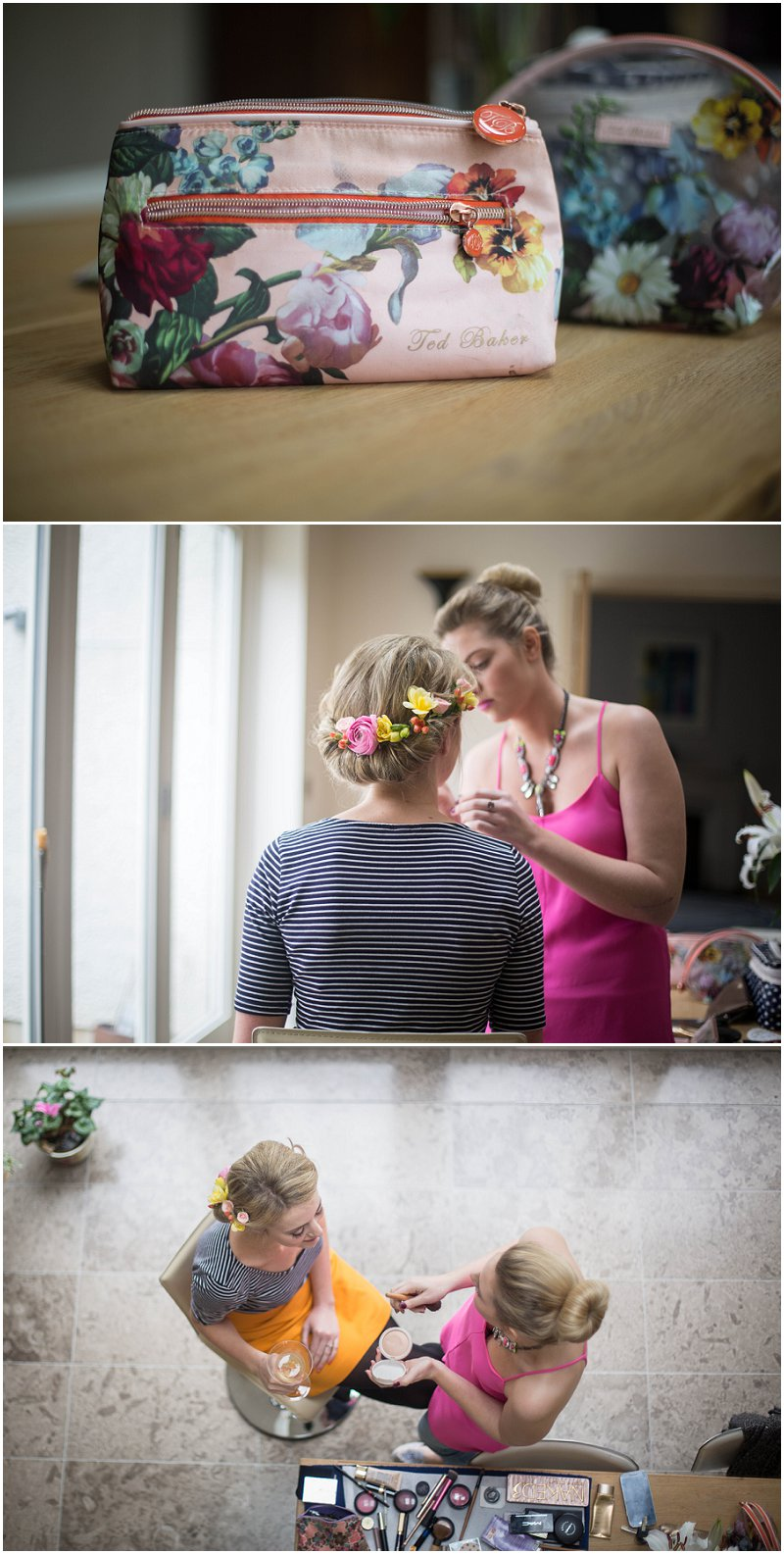 Bridal Preperations Cumbria Wedding photography
