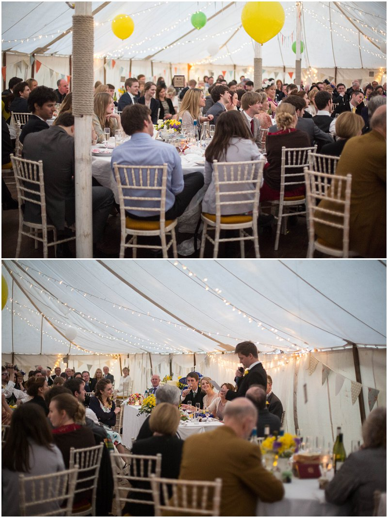 Speeches at Belmount Hall Wedding Photography | Marquee Wedding Photography
